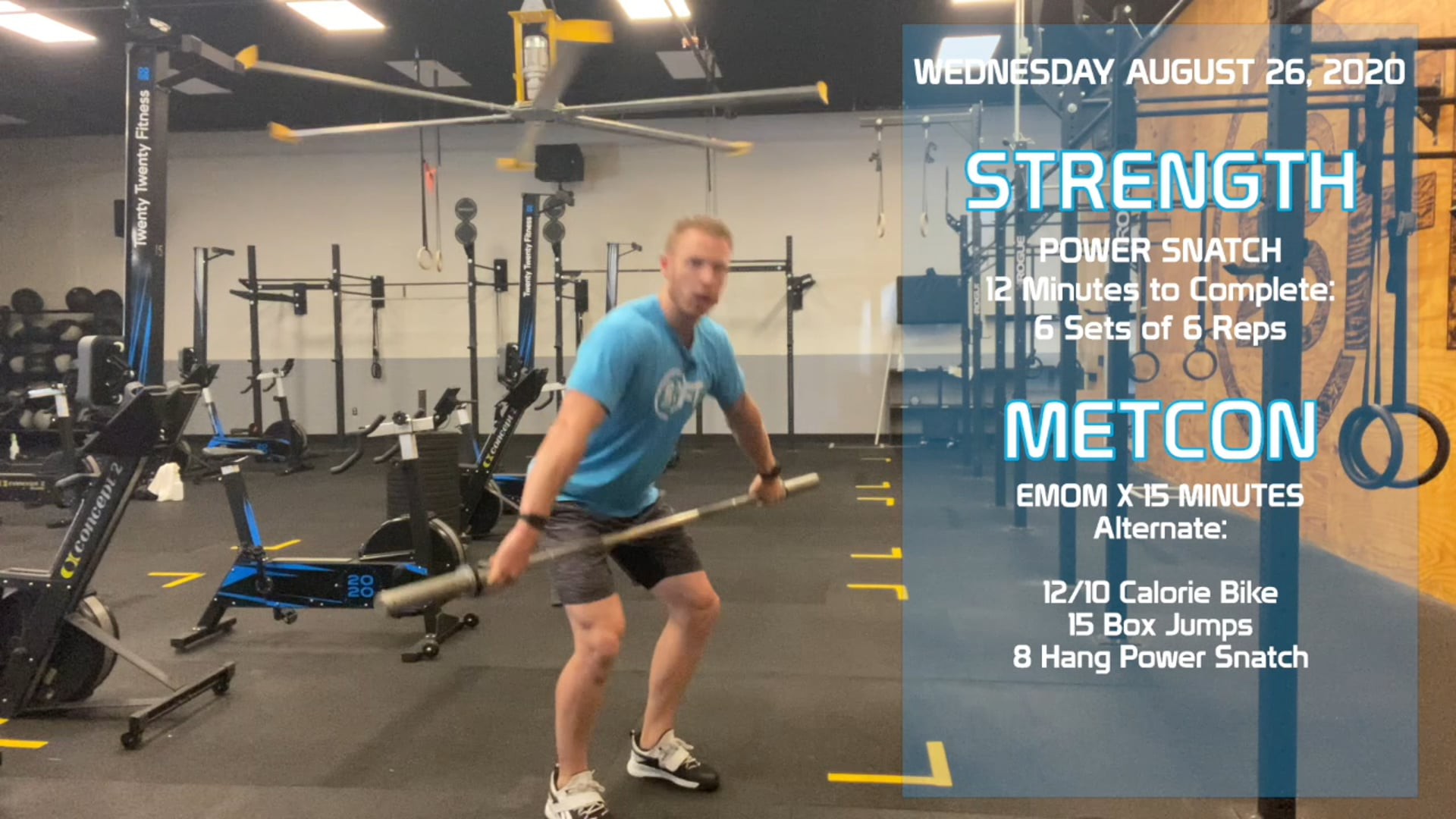 Wednesday August 26th