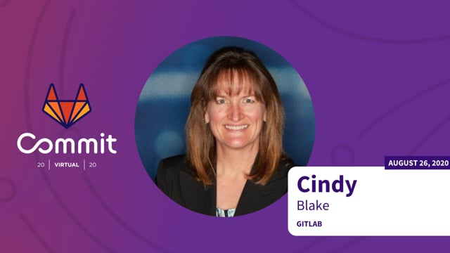 Cindy Blake - Contributing to the Secure & Defend roadmaps
