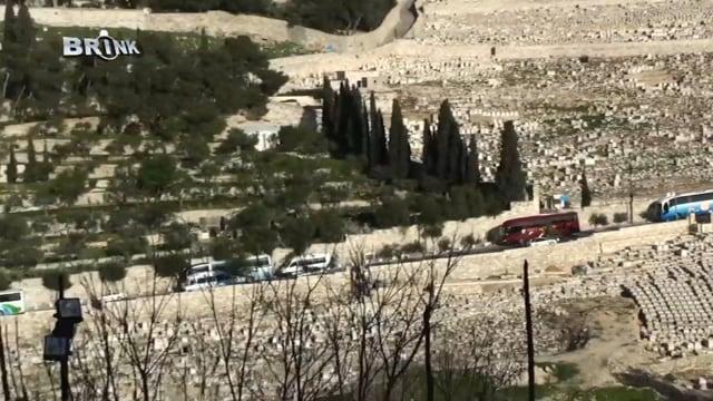 015 De graven voor de oostpoort in Jeruzalem