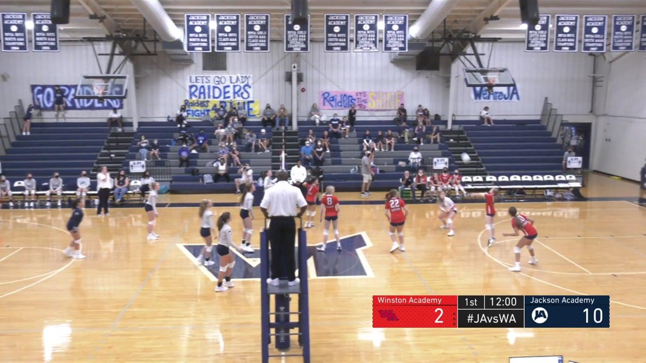 JV Volleyball vs Winston Academy - 08-20-20
