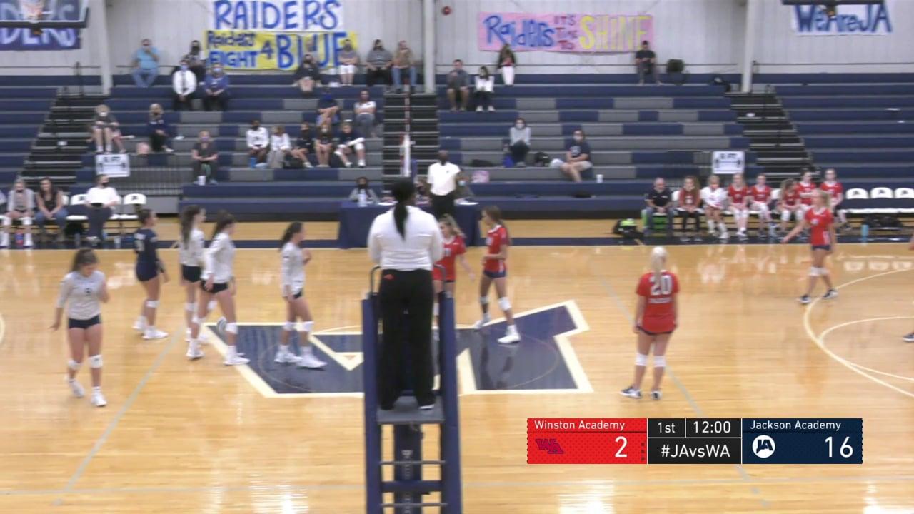 Varsity Volleyball vs Winston Academy - 08-20-20