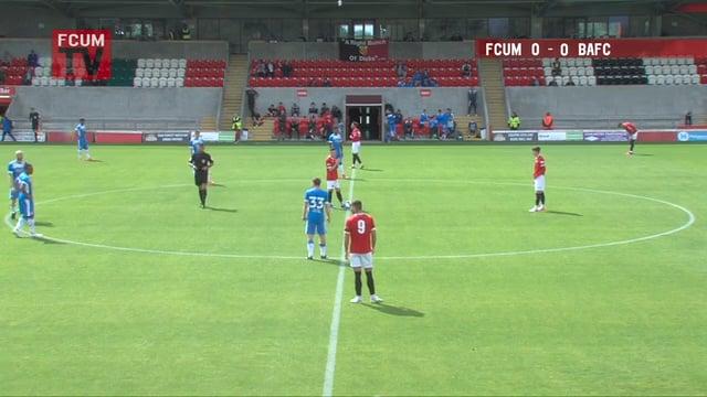 FC United vs Barrow AFC - Friendly - 22-08-20