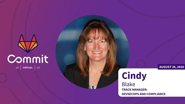 Cindy Blake- Track Intro