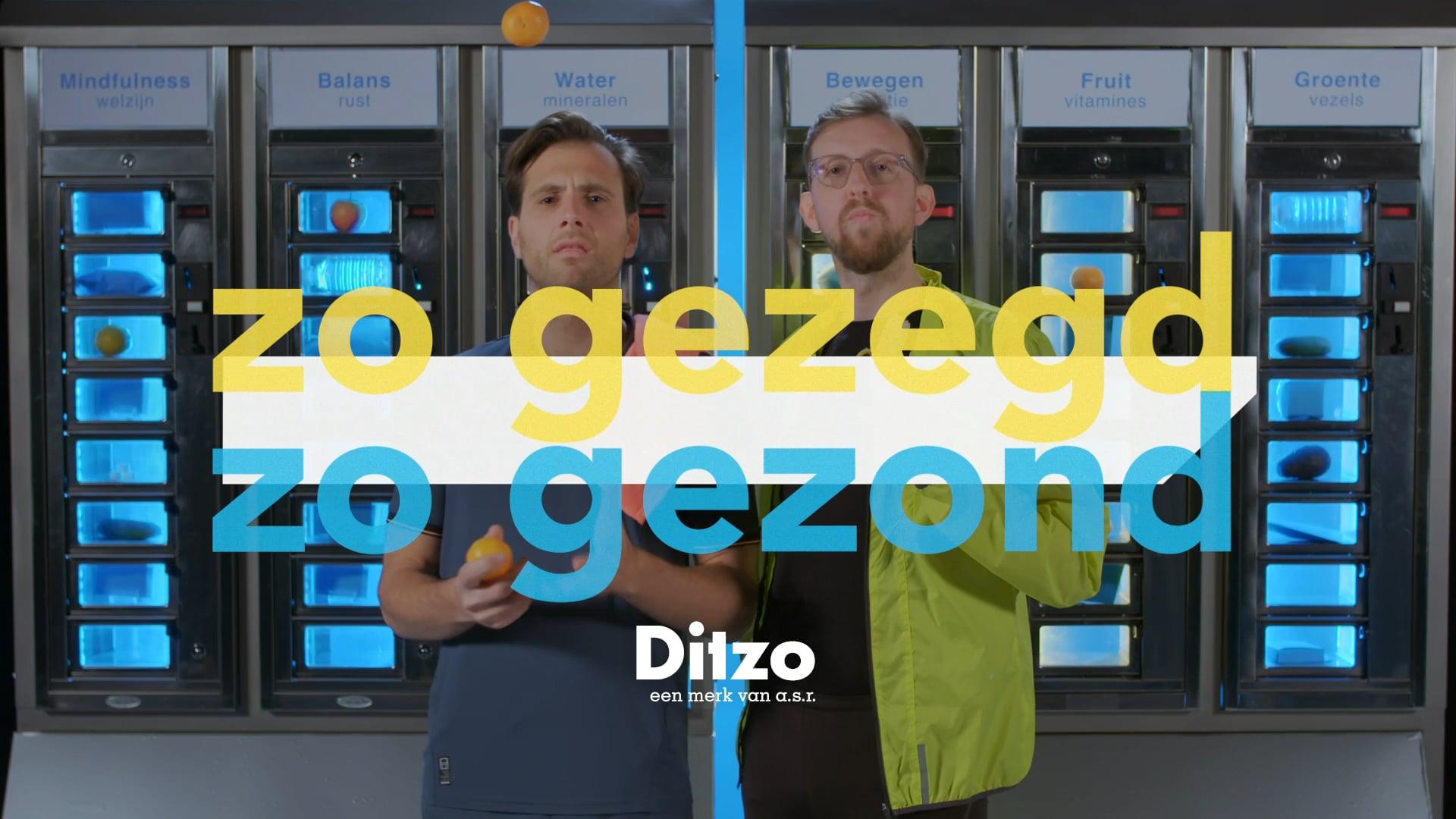 Ditzo - Zo Gezegd, Zo Gezond - 10K Stappen