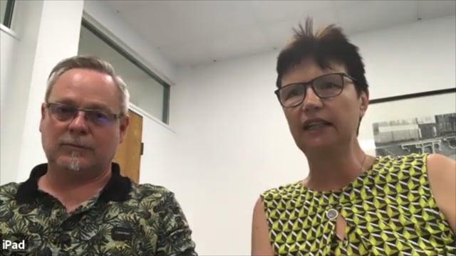 Interview mit Andrea Wagner und Ralf van gen Hassend