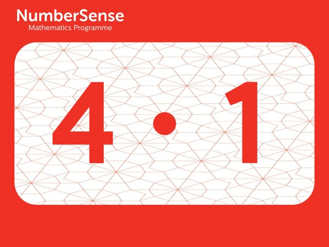 NumberSense Manipulating Numbers: Level 4, Task 1 (Gr.1, T.4, Wkbk 4)