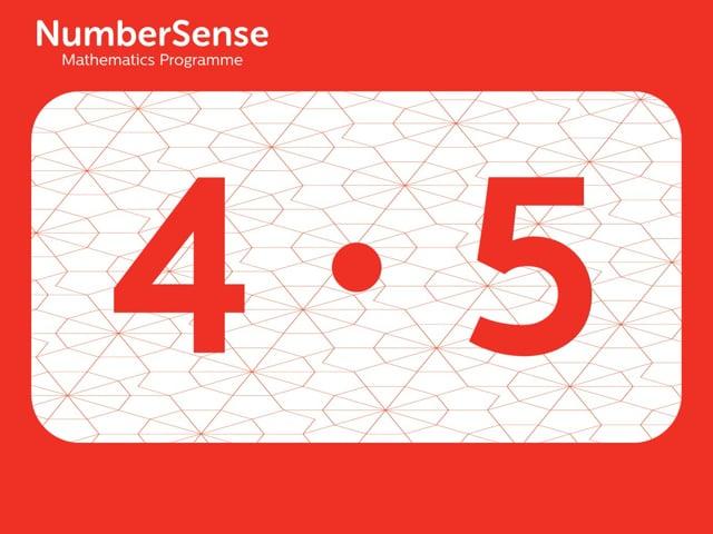 NumberSense Manipulating Numbers: Level 4, Task 5 (Gr.1, T.4, Wkbk 4)