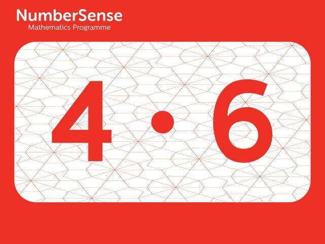 NumberSense Manipulating Numbers: Level 4, Task 6 (Gr.1, T.4, Wkbk 4)
