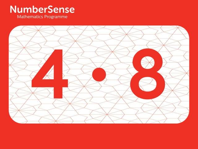 NumberSense Manipulating Numbers: Level 7, Task 8 (Gr.1, T.4, Wkbk 4)