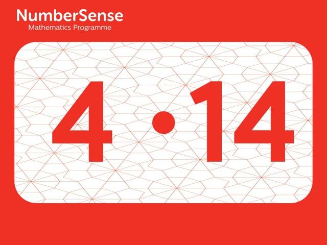 NumberSense Manipulating Numbers: Level 4, Task 14 (Gr.1, T.4, Wkbk 4)