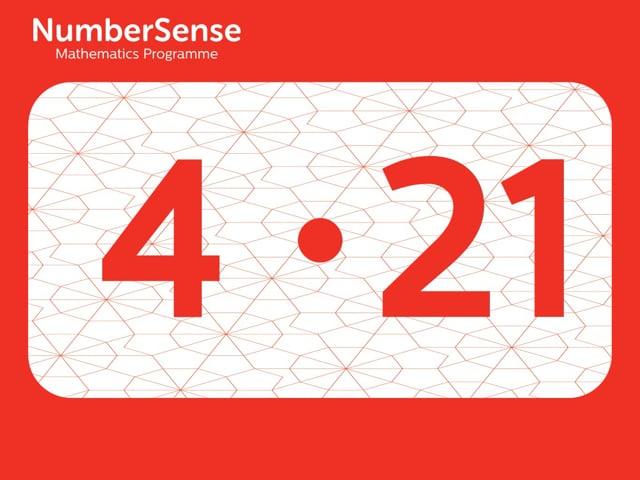 NumberSense Manipulating Numbers: Level 4, Task 21 (Gr.1, T.4, Wkbk 4)