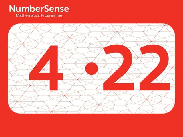 NumberSense Manipulating Numbers: Level 4, Task 22 (Gr.1, T.4, Wkbk 4)