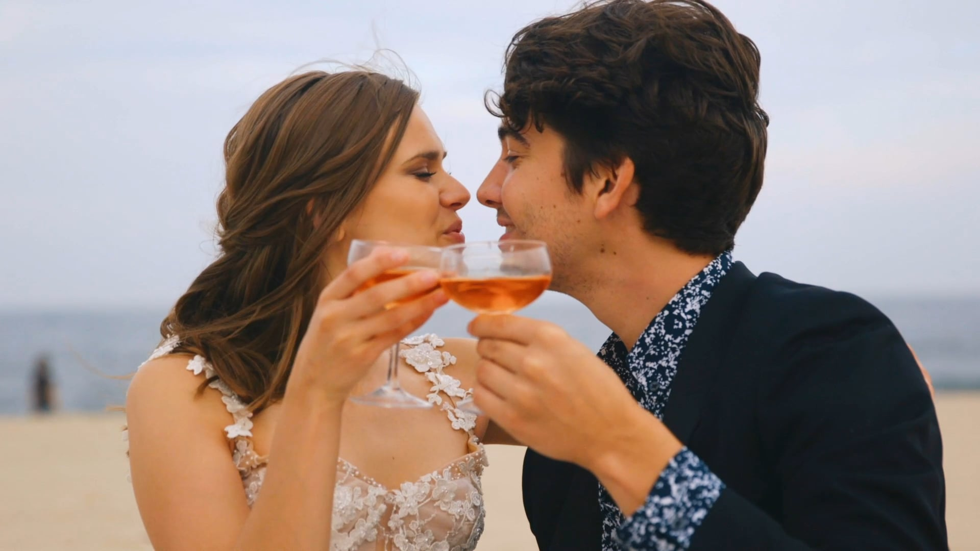 Harrison and Darla   South Jersey Wedding Trailer