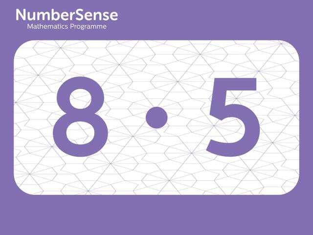 NumberSense Manipulating Numbers: Level 8, Task 5 (Gr.2, T.4, Wkbk 8)
