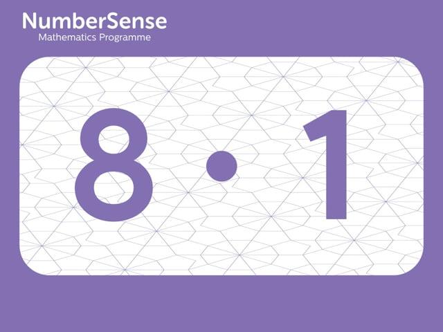NumberSense Manipulating Numbers: Level 8, Task 1 (Gr.2, T.4, Wkbk 8)