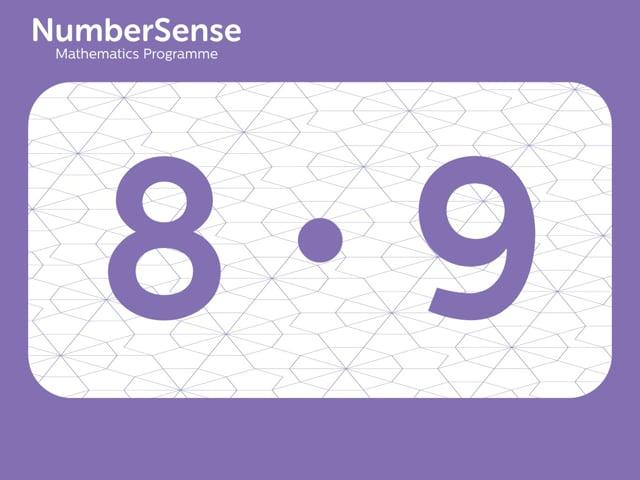 NumberSense Manipulating Numbers: Level 8, Task 9 (Gr.2, T.4, Wkbk 8)