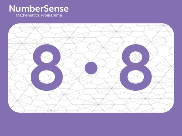 NumberSense Manipulating Numbers: Level 8, Task 8 (Gr.2, T.4, Wkbk 8)