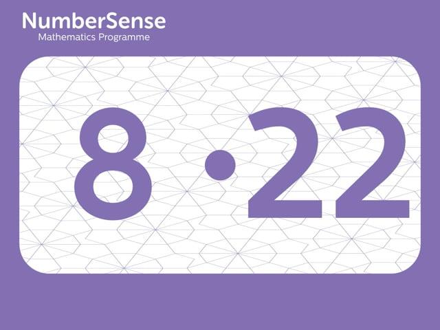 NumberSense Manipulating Numbers: Level 8, Task 22 (Gr.2, T.4, Wkbk 8)