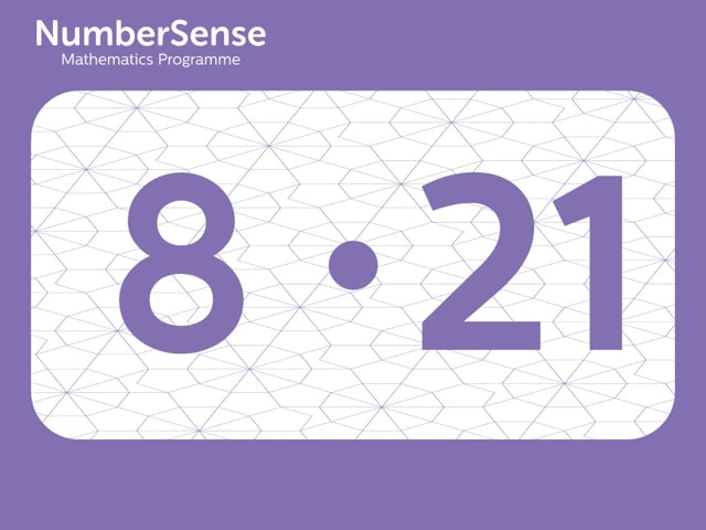 NumberSense Manipulating Numbers: Level 8, Task 21 (Gr.2, T.4, Wkbk 8)
