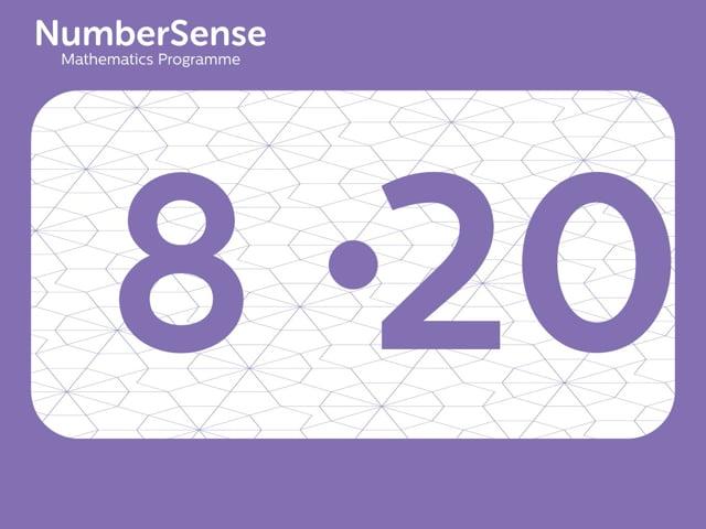 NumberSense Manipulating Numbers: Level 8, Task 20 (Gr.2, T.4, Wkbk 8)