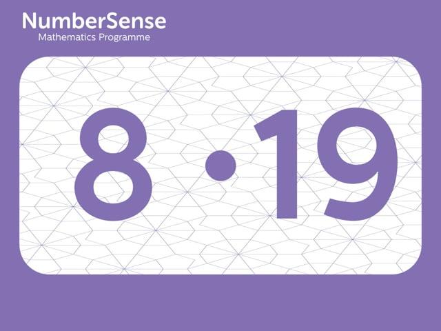 NumberSense Manipulating Numbers: Level 8, Task 19 (Gr.2, T.4, Wkbk 8)