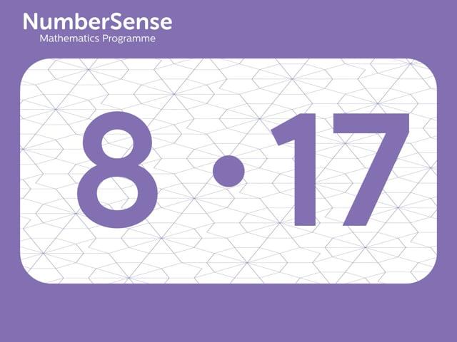 NumberSense Manipulating Numbers: Level 8, Task 17 (Gr.2, T.4, Wkbk 8)