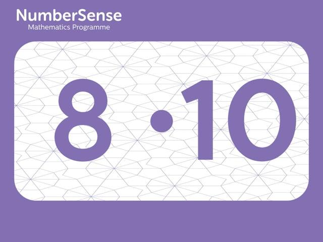 NumberSense Manipulating Numbers: Level 8, Task 10 (Gr.2, T.4, Wkbk 8)