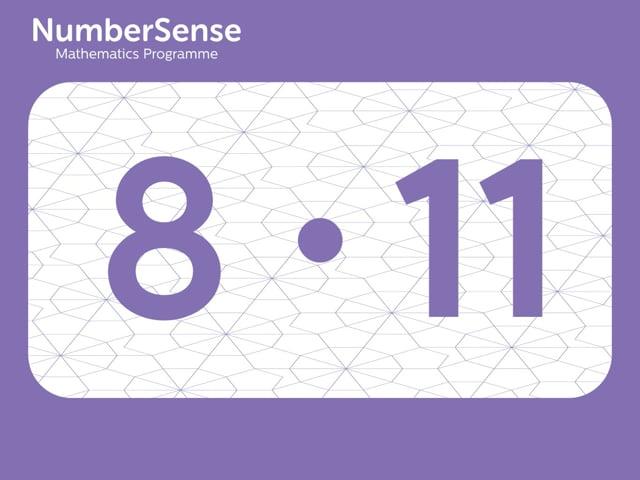 NumberSense Manipulating Numbers: Level 8, Task 11 (Gr.2, T.4, Wkbk 8)