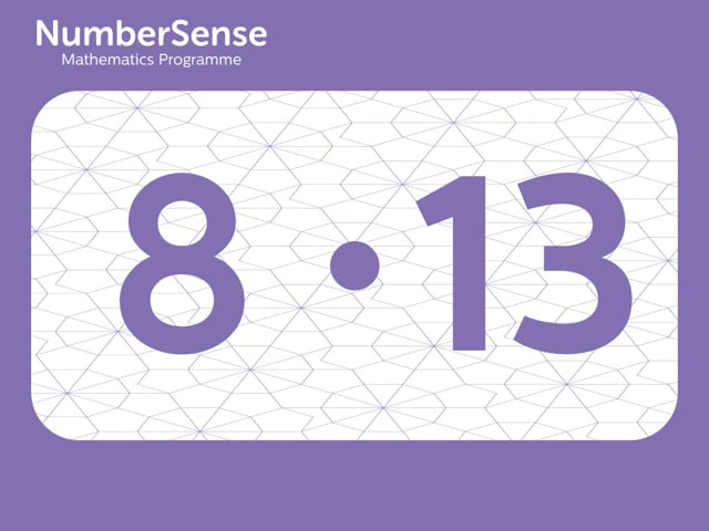 NumberSense Manipulating Numbers: Level 8, Task 13 (Gr.2, T.4, Wkbk 8)