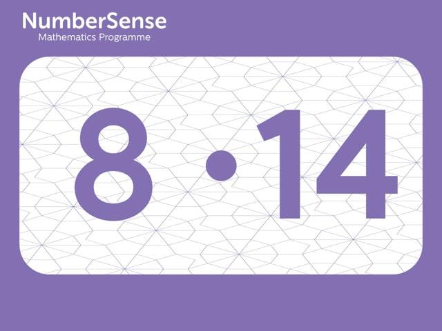 NumberSense Manipulating Numbers: Level 8, Task 14 (Gr.2, T.4, Wkbk 8)