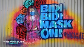 Mask Mural Images