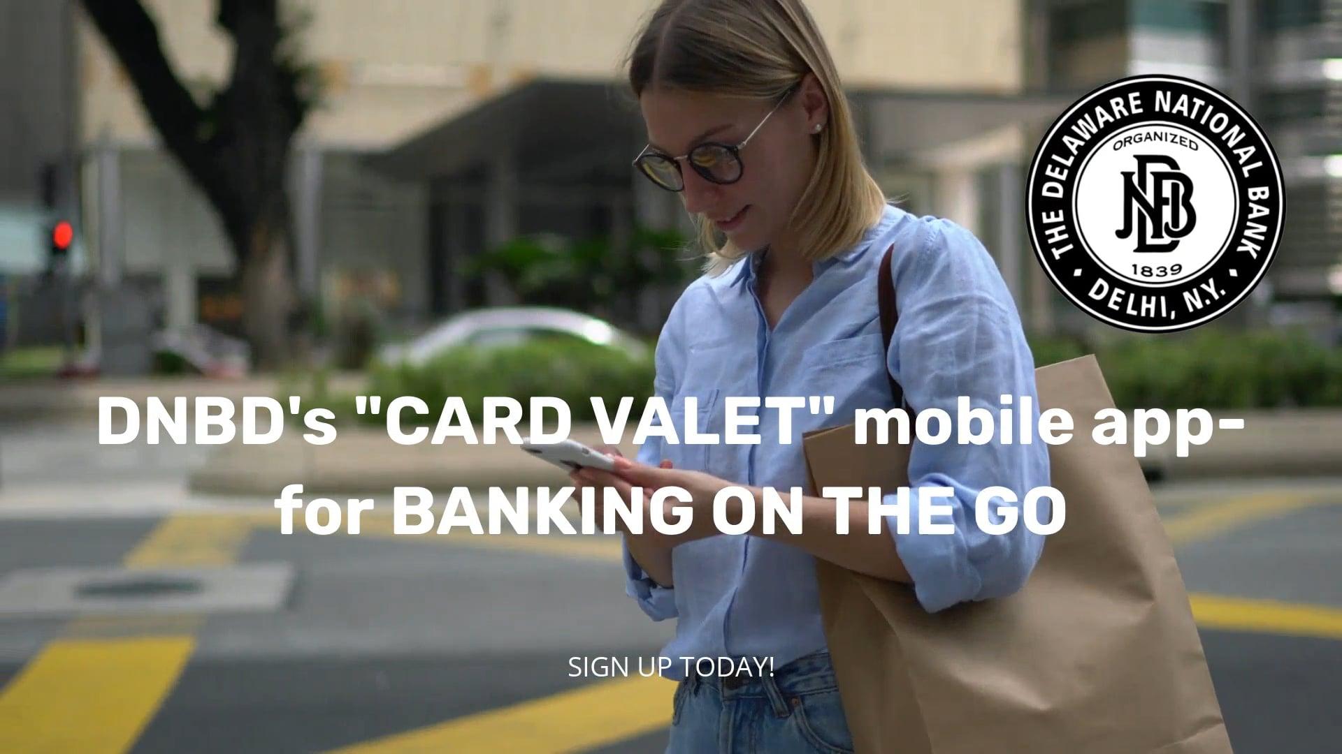 Delaware National Bank- Card Valet