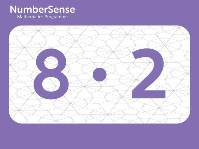 NumberSense Manipulating Numbers: Level 8, Task 2 (Gr.2, T.4, Wkbk 8)