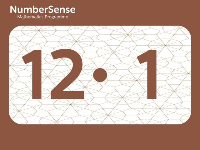 NumberSense Manipulating Numbers: Level 12, Task 1 (Gr.3, T.4, Wkbk 12)