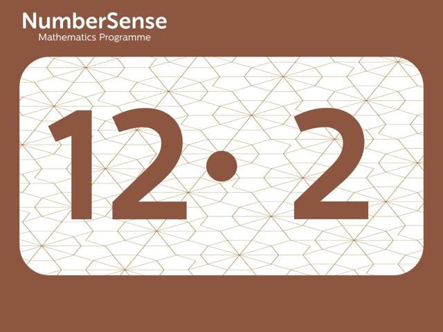 NumberSense Manipulating Numbers: Level 12, Task 2 (Gr.3, T.4, Wkbk 12)