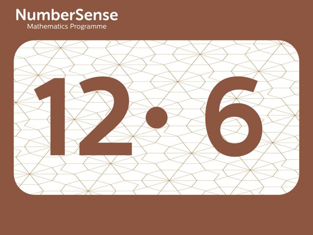 NumberSense Manipulating Numbers: Level 12, Task 6 (Gr.3, T.4, Wkbk 12)