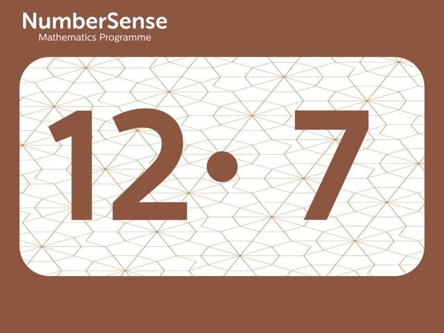 NumberSense Manipulating Numbers: Level 12, Task 7 (Gr.3, T.4, Wkbk 12)