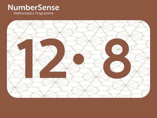 NumberSense Manipulating Numbers: Level 12, Task 8 (Gr.3, T.4, Wkbk 12)