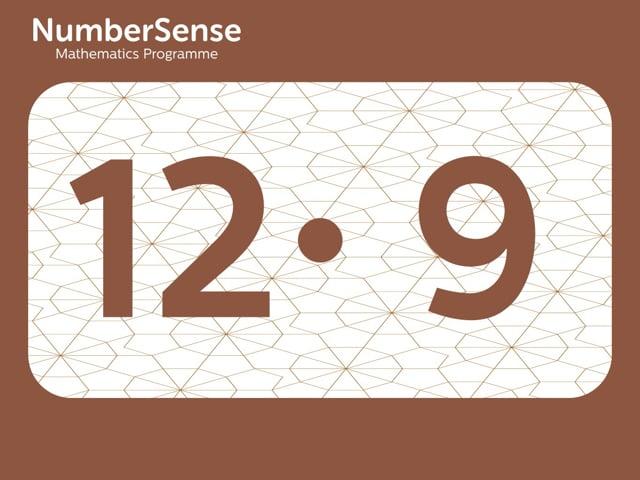 NumberSense Manipulating Numbers: Level 12, Task 9 (Gr.3, T.4, Wkbk 12)