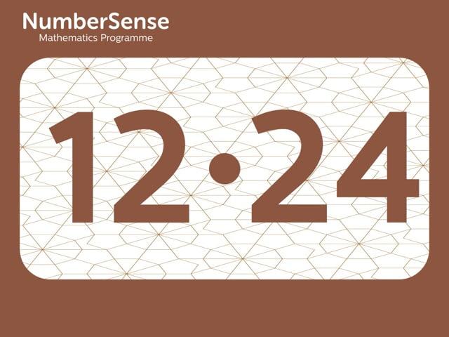 NumberSense Manipulating Numbers: Level 12, Task 24 (Gr.3, T.4, Wkbk 12)
