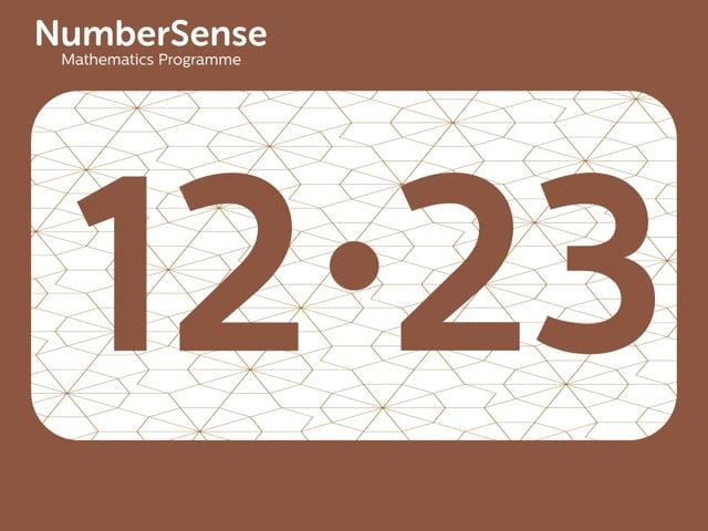 NumberSense Manipulating Numbers: Level 12, Task 23 (Gr.3, T.4, Wkbk 12)