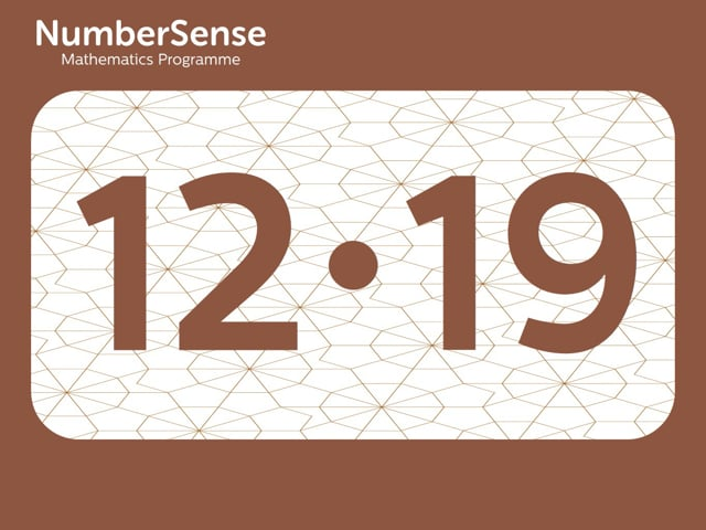 NumberSense Manipulating Numbers: Level 12, Task 19 (Gr.3, T.4, Wkbk 12)