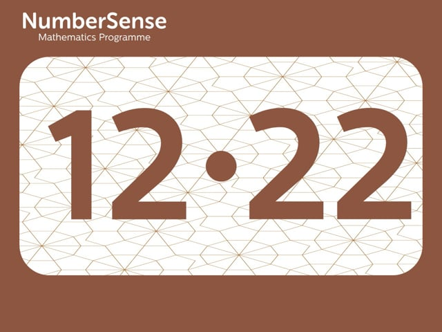 NumberSense Manipulating Numbers: Level 12, Task 22 (Gr.3, T.4, Wkbk 12)