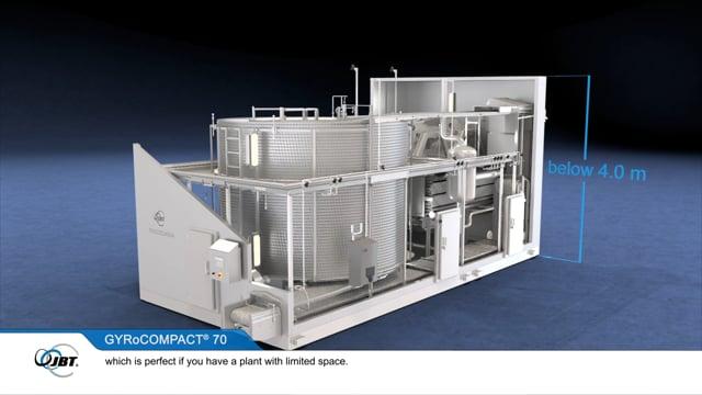 JBT Frigoscandia GYRoCOMPACT® 70 Spiral Freezer