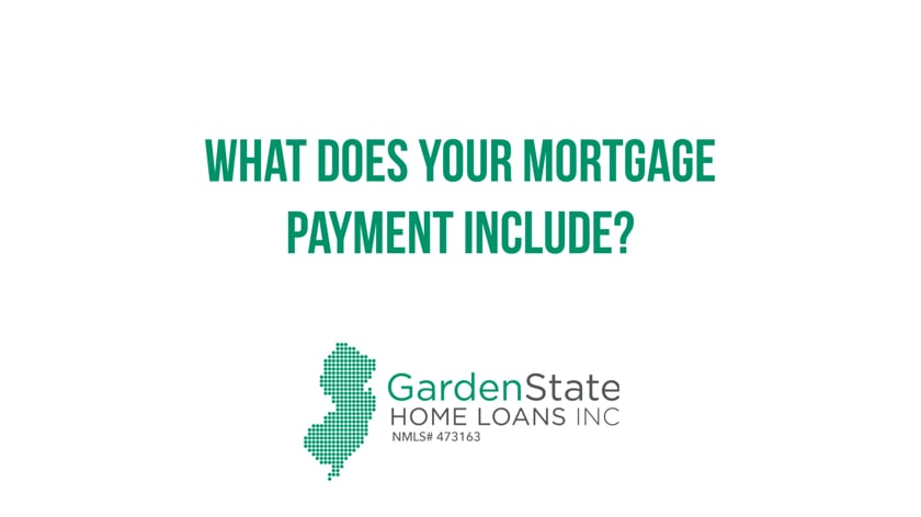 What does your mortgage payment include