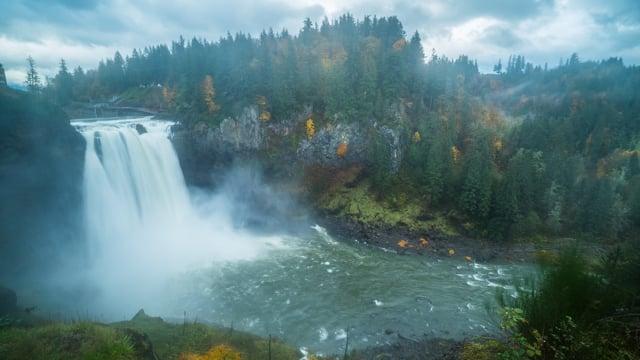 Snoqualmie Falls, Autumn. Episode 1