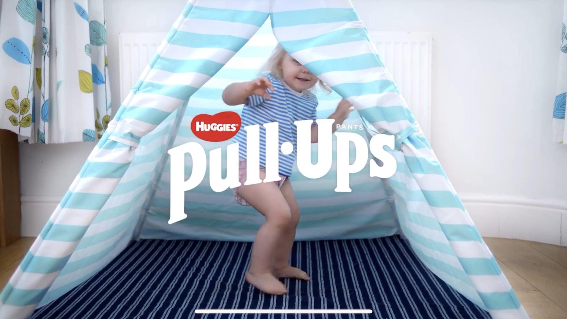 Huggies TV Pull Ups advert - Arlo Warren