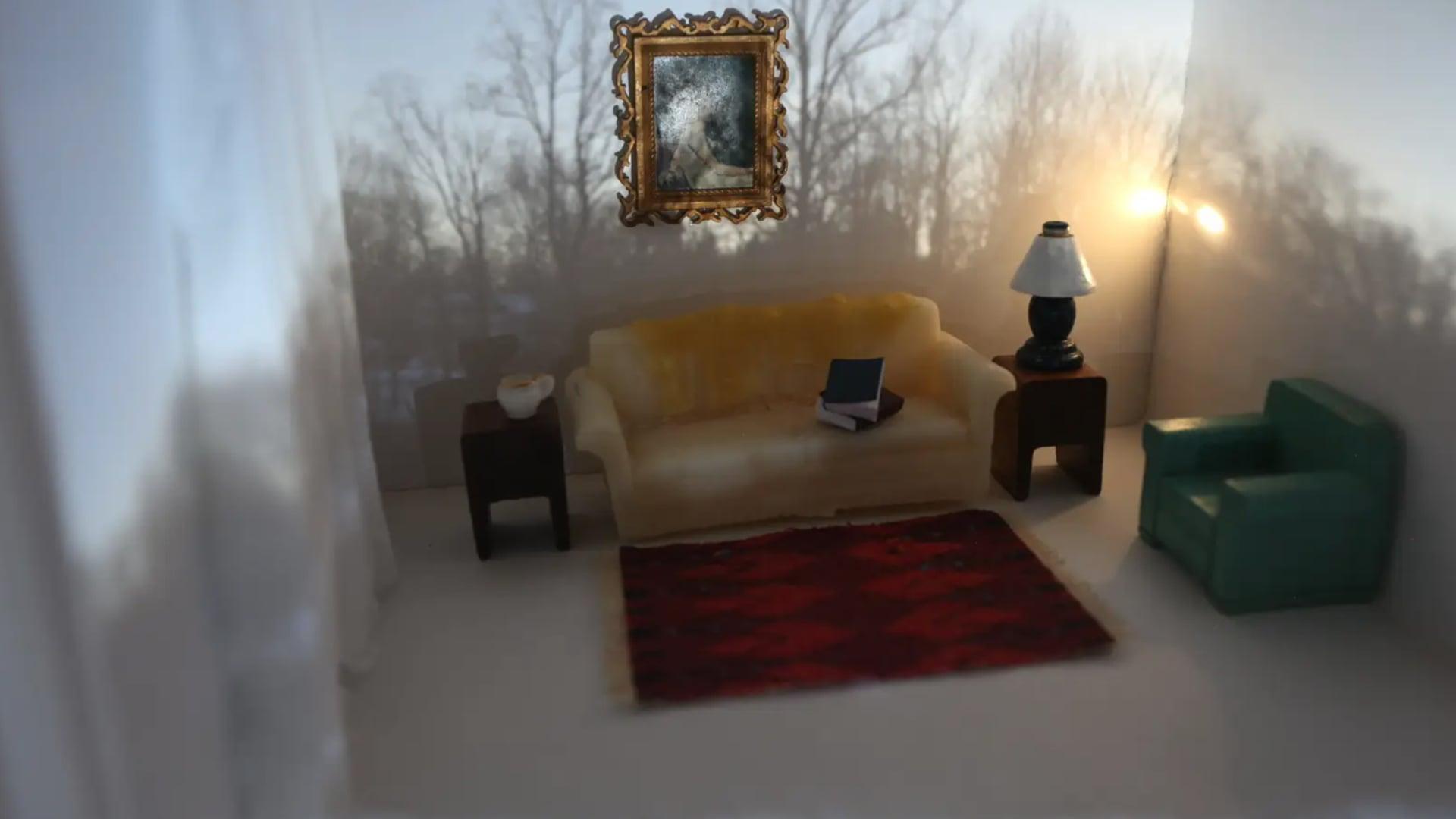 Sun Over My Sofa