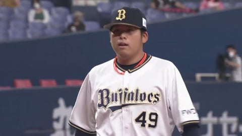 【7回表】バファローズ・澤田が1イニングを3者凡退に抑える!! 2020/8/28 B-M