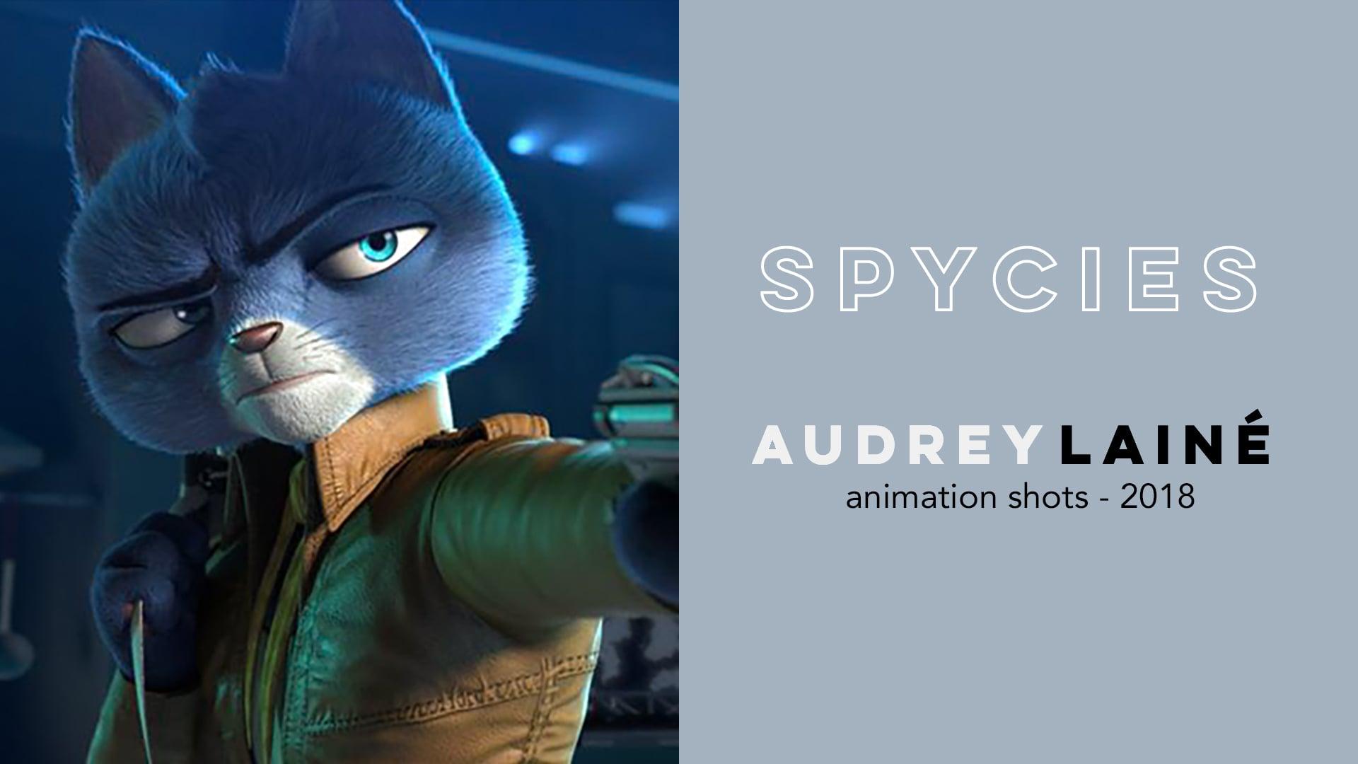 Audrey Lainé // Spycies animation shots 2018